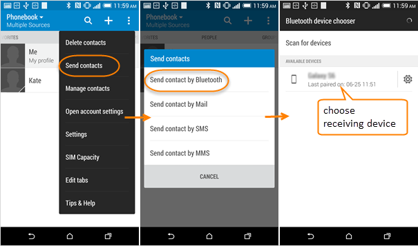 how to switch contacts from android to iphone guide to transfer files via bluetooth on samsung galaxy 9681