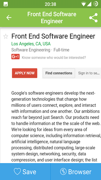 How to use glassdoor app for job search