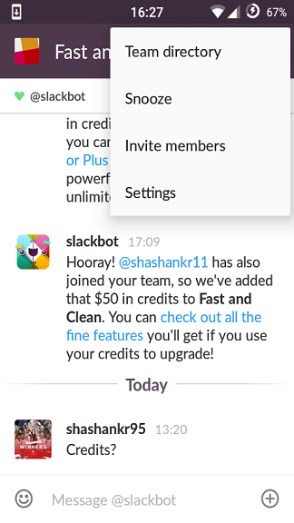 What does Slack mean? What is another word for Slack?