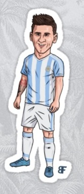 Lionel Messi Stickers for iPhone