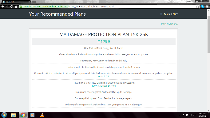 Best cell phone insurance company in India
