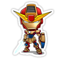 Iron Man Stickers for iPhone