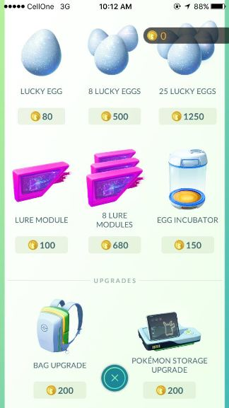 How to play Pokemon go guide eggs