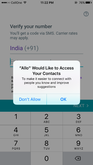 How to use Allo app?