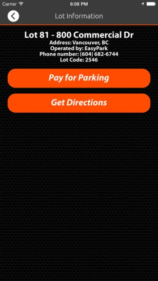 How to use EasyPark app