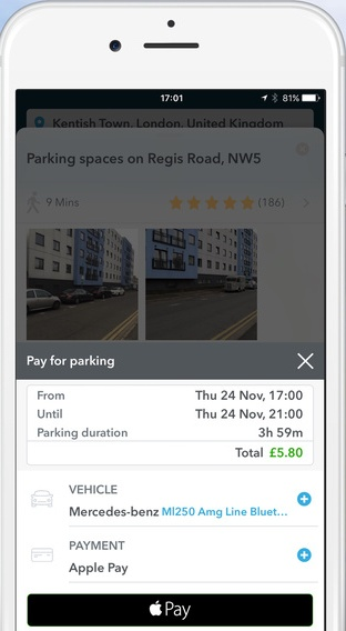 How to use JustPark app
