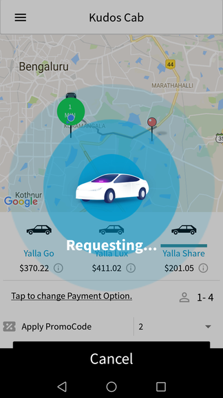 uber clone script, ride sharing feature