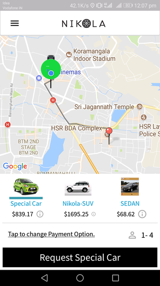 uber clone script, fare estimate feature