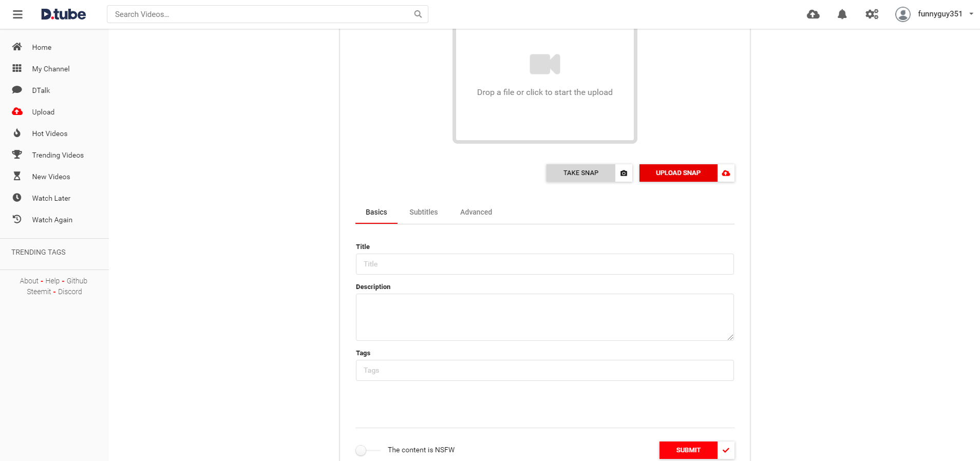How To Use DTube To Upload Content And Earn Cryptocurrency