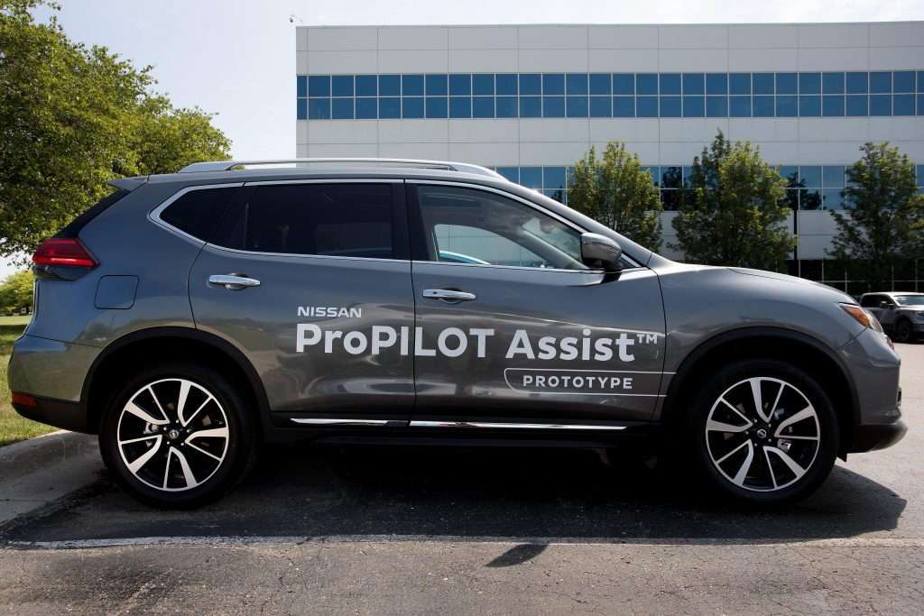 Nissan Conducts Trials For Its Fully Autonomous Cars In Tokyo