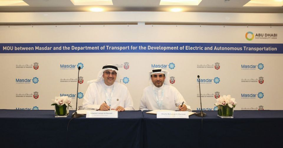 Abu Dhabi Gains Momentum With Its Electric And Autonomous Plans