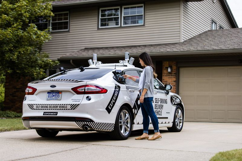 Ford and Domino's are joining hands to test pizza delivery using autonomous cars