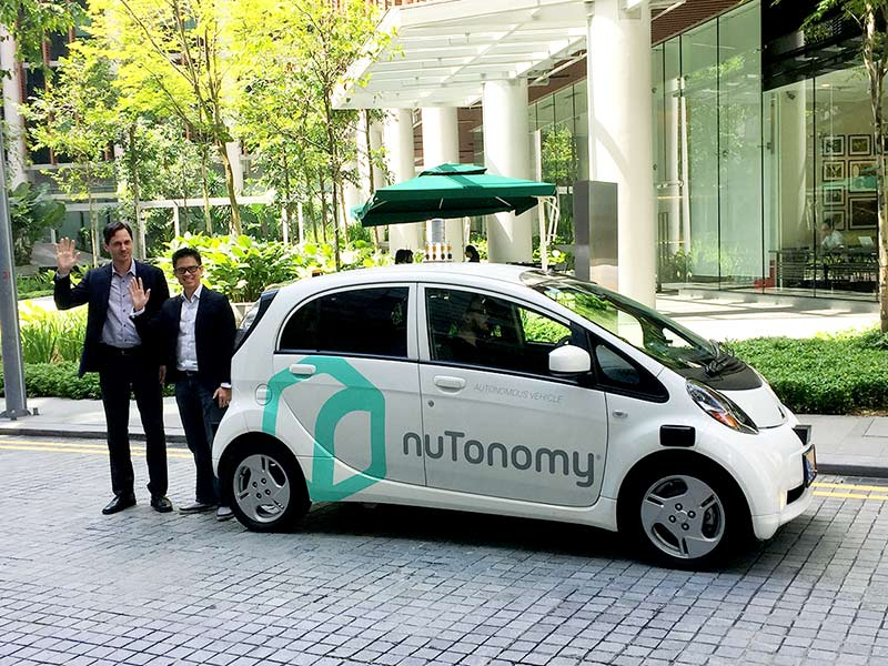 Boston Based Self Driving Startup NuTonomy, Acquired By Delphi For $450 Million