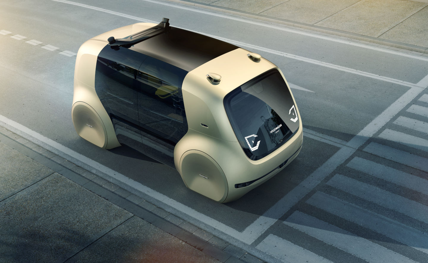 Volkswagen Displays Its First Self Driving Car At Cityscape – Dubai
