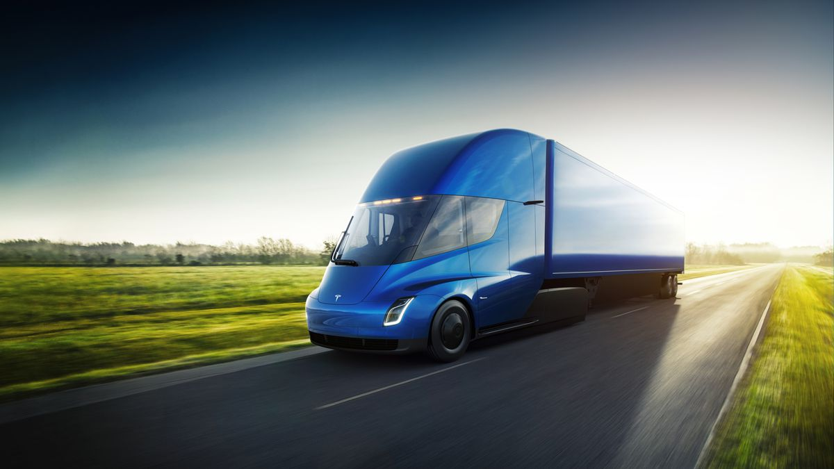 The Revolution From Tesla Inc: Meet The All New Tesla Semi Truck