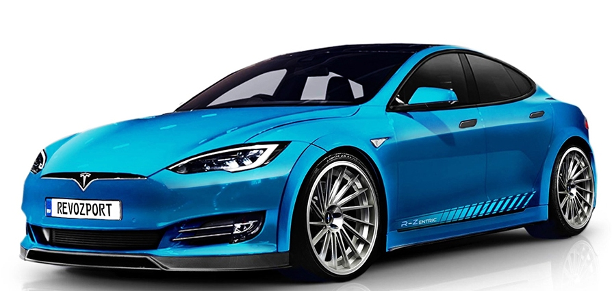 Tesla accessories Fender kit with Sports Side Skirts