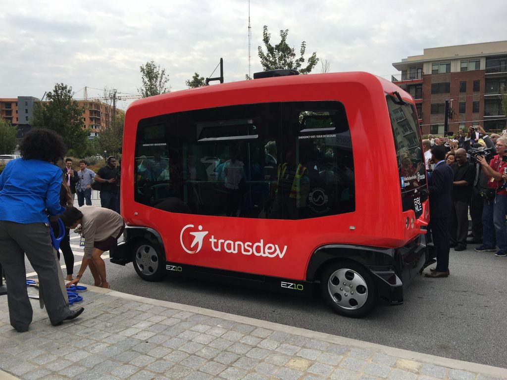 Autonomous Buses Embark, A New Era Of Transportation In Atlanta