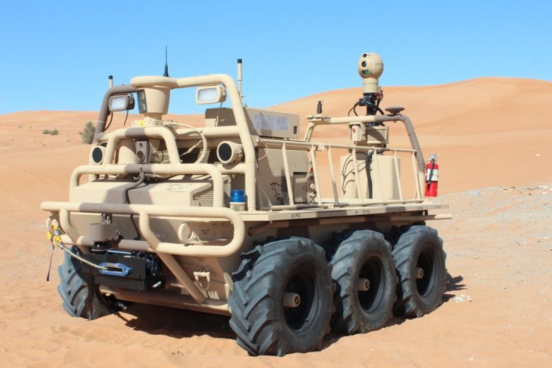 US Army Going Big With Autonomous Armored Vehicles