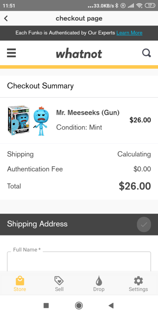 How to Buy and Sell verified funko pops with Whatnot app?