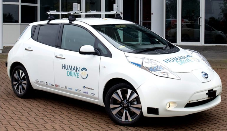 A UK Road Trip Awaits Driverless Cars In 2019 – HumanDrive Project