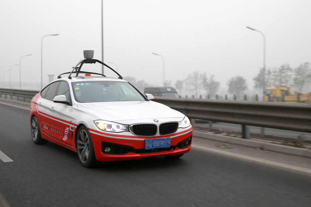 China's Baidu to test self-driving cars in Concord